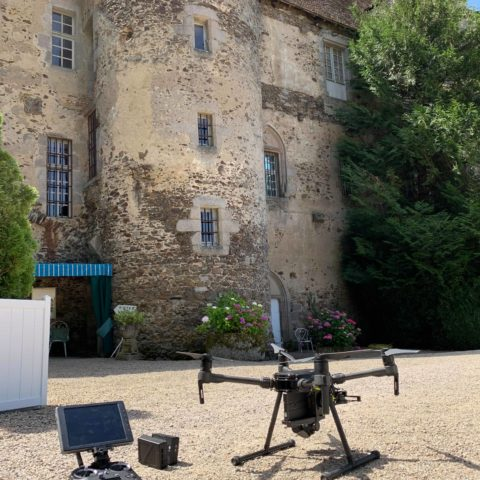Drone professionnel DJI Matrice210 inspections